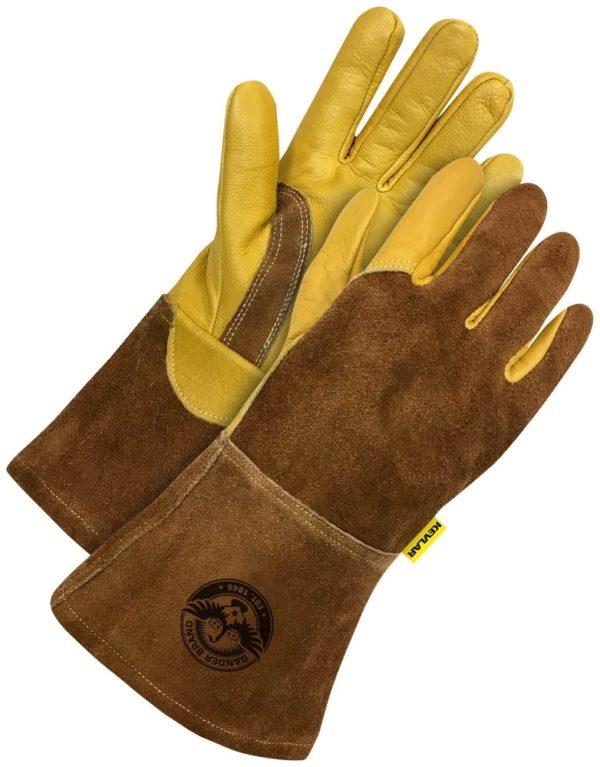 Gander Split Leather Gloves