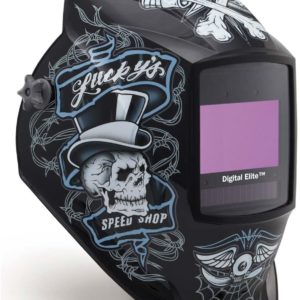 Miller Electric Digital Elite Lucky's Speed Shop Welding Helmet