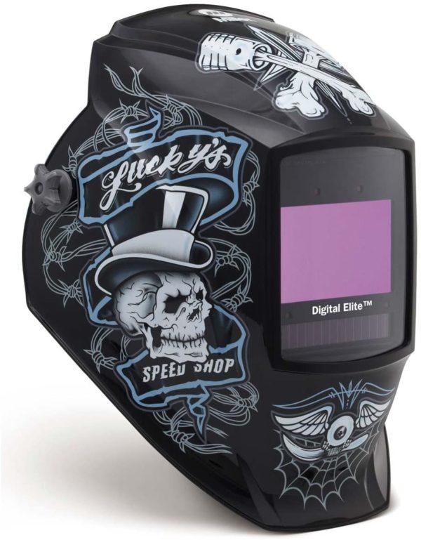 Miller Electric Digital Elite Lucky's Speed Shop Welding Helmet