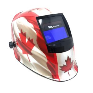 Weldmark Canadian Flag Welding Helmet
