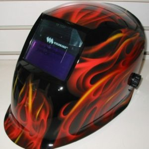 Weldmark Red Flame Welding Helmet
