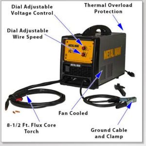 FC130I Flux Core Wire Welder